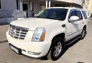 Прокат Cadillac Escalade внедорожник киев