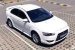 Аренда эконом класса авто Mitsubishi Lancer белый