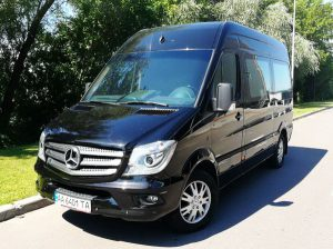 Mercedes Sprinter черный VIP прокат аренда