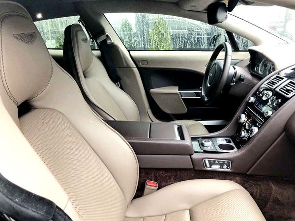 Aston Martin Rapide на свадьбу съемки
