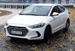 Аренда авто Hyundai Elantra белая 2018 Киев цена