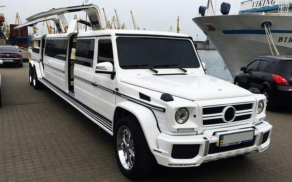 Mercedes G-class Gelandewagen аренда на свадьбу киев