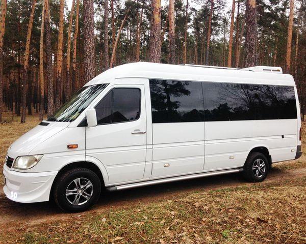 Mercedes Sprinter микроавтобус на свадьбу