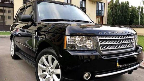 Range Rover Vogue черный на свадьбу киев
