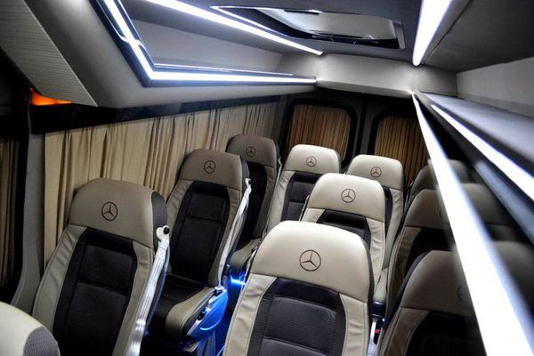 Mercedes Sprinter микроавтобус на прокат с водителем