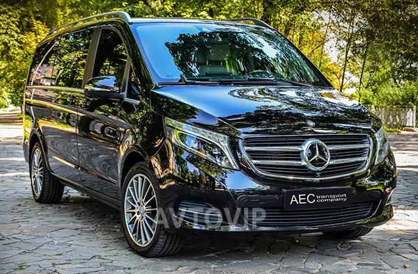 Mercedes V класс микроавтобус аренда киев