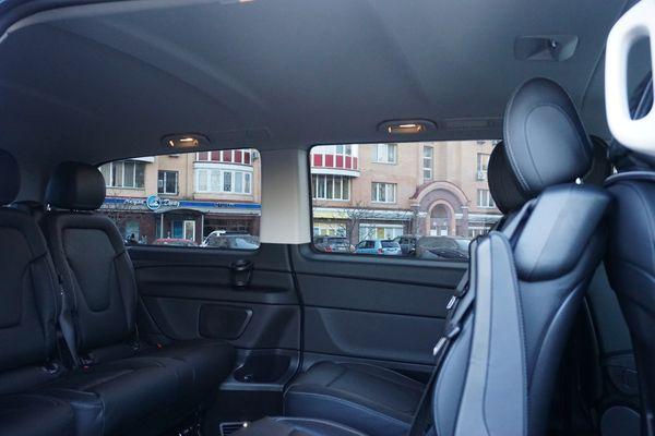 Mercedes V класс минивен на свадьбу трансфер