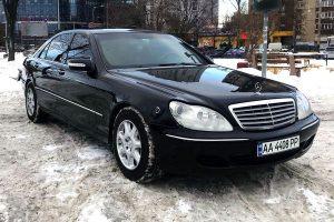 Mercedes-Benz w220 S600 2006 GUARD B6/B7 аренда бронированный