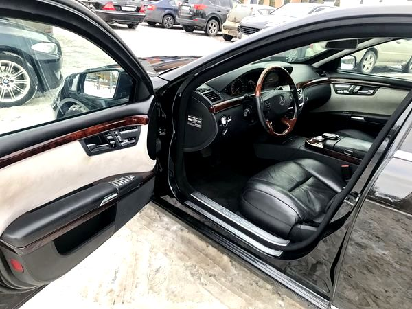 Mercedes W221 S600 GUARD B6/B7 бронированный прокат аренда