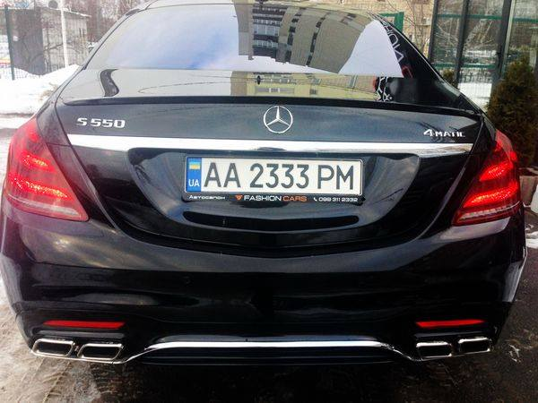 Mercedes-Benz S550 AMG 4MATIC W222 Restyling прокат