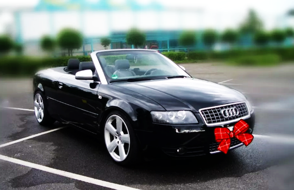 Audi A4 кабриолет прокат аренда авто