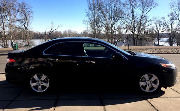 Honda Accord черная на свадьбу в киеве