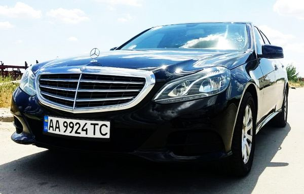Mercedes W212 E прокат авто на свадьбу киев