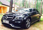 Аренда Mercedes W212 E250 New авто бизнес класса