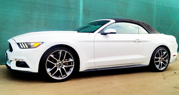 Ford Mustang белый кабриолет аренда киев