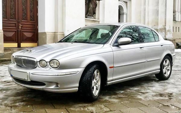 Jaguar X-type прокат аренда на съемки кино