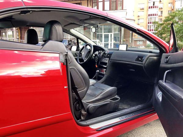 Прокат Peugout 307cc red на свадьбу