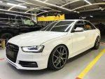 Аренда Audi S4 белая авто бизнес класса Киев цена