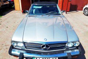 Mercedes SL 107 1985 год ретро на съемки