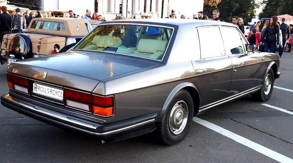 ROLLS-ROYCE 1984 арендовать ролс ройс ретро авто киев