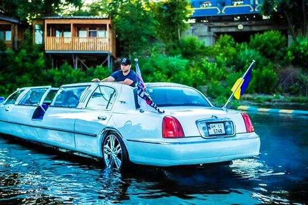 Aqua-Limousine аква лимузин аренда на прокат