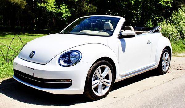 Volkswagen Beetle кабриолет на прокат в киеве