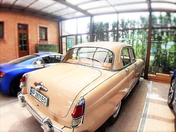 Volga GAZ-21 прокат аренда ретро авто на свадьбу киев