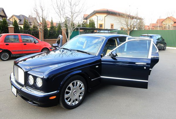 Bentley Arnage 2006 аренда киев на прокат