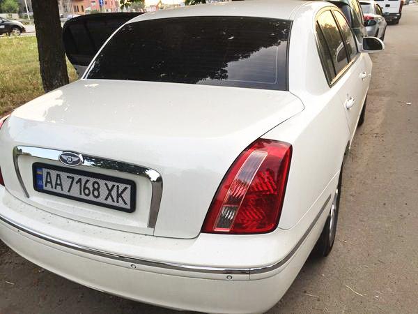 KIA Opirus белый прокат аренда авто на свадьбу