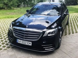 Mercedes-Benz S550 AMG 4MATIC W222 Restyling на свадьбу трансер