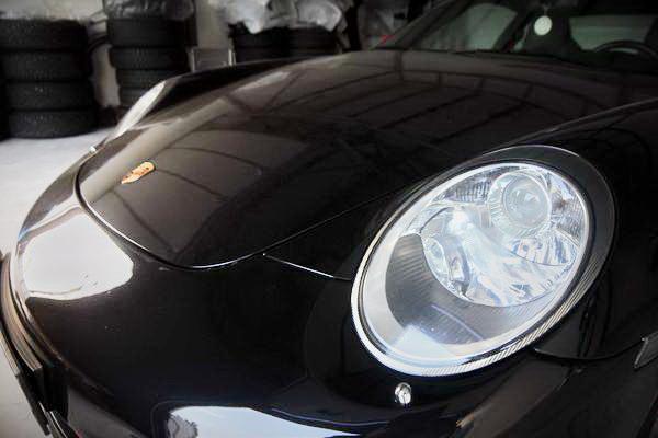 Porsche 911 2007 год на свадьбу съемки в киеве
