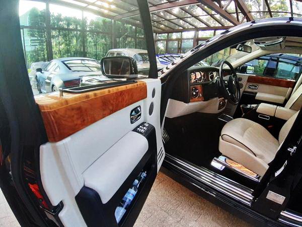 VIP авто Rolls-Royce Phantom 2006 на свадьбу киев