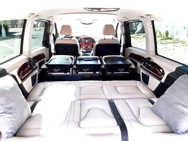 Mercedes V класс микроавтобус на прокат на свадьбу в киеве