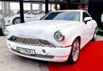 Аренда ретро автомобиля Pobeda белая Киев цена