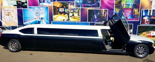 Dodge Charger Limo арендовать на свадьбу в киеве