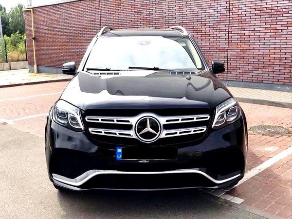 Mercedes GLS 2018 черный заказать джип на свадьбу