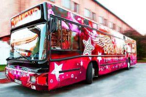 автобус Пати бас Diamond Party Bus аренда в киеве