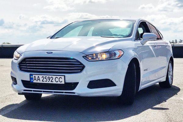 Ford Fusion 2015 белый заказать на прокат