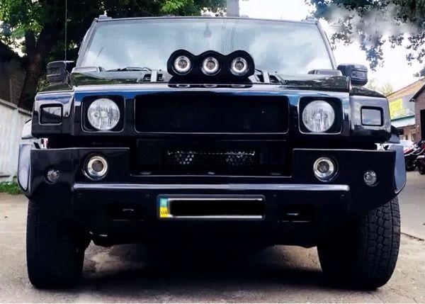 Hummer H2 черный внедорожник на прокат