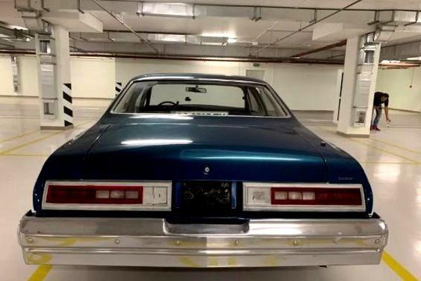 Сhevrolet Malibu Classic blue ретро авто на сьемки