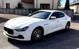 Maserati ghibli sQ4 белый прокат на свадьбу