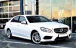 Аренда Mercedes W212 E-class 250 NEW белый авто Киев цена