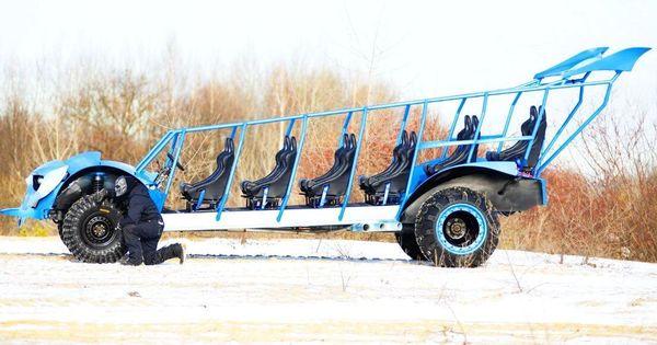 Party Bus Monster Buggy заказать на детский день рождения