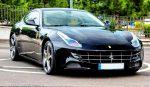 Ferrari-ff черная прокат аренда Киев