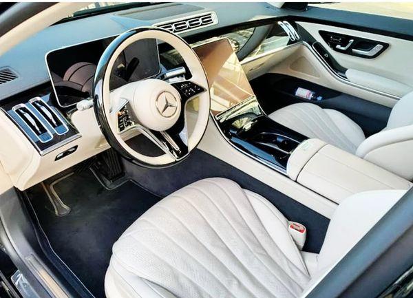 Mercedes-Benz W223 S-Class аренда мерседес с водителем на свадьбу
